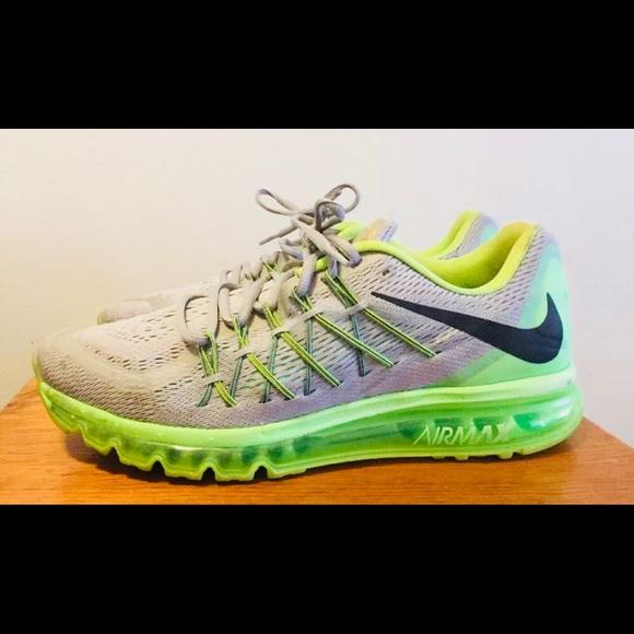 Nike Air Max Wolf GrayLime 698902 005 Men's 13